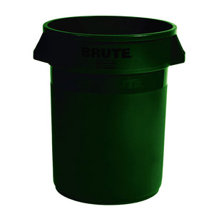 "(spec.ord*4*) Brute round container 44 GAL green 24"" x 31.5"" H"
