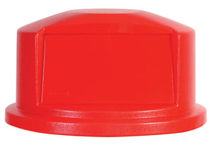 "Dome Lid for container RU2643 red 24  13/16"" x 12 5/8""H"