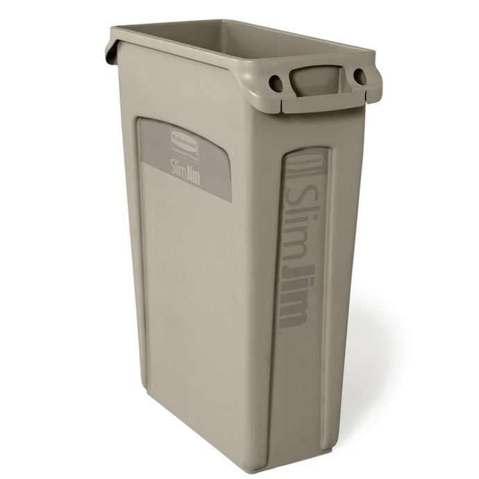 (spec.ord*4*) Slim Jim container with venting channels beige
