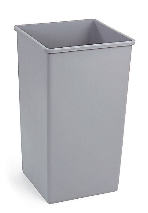 Untouchable square container 35 gal gray 19.5