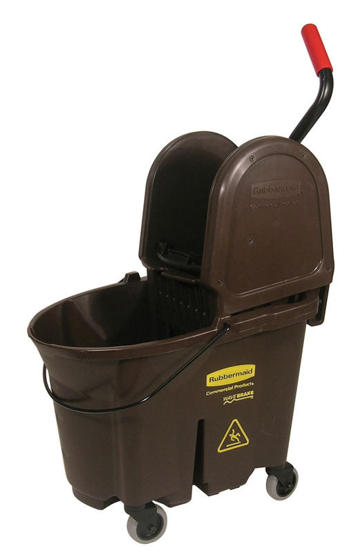 Down press bucket & wringer combo brown 6.5 to 8.75 Gal