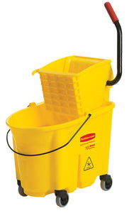 WaveBrake side press combo bucket & wringer yellow 6.5 to 8.75 Gal