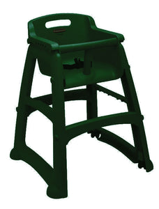 "(spec.ord)Sturdy chair(assembled)with black wheels 22.5""x23.375""x29.75"