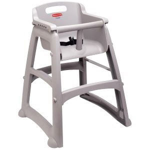 (Spec. Ord)Sturdy chair (assembled) without wheels platinum