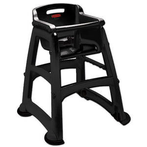 (spec.ord) Sturdy chair un-assembled without wheels black