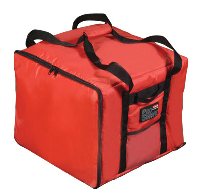 (spec.ord *4*) Proserve pizza / catering / sandwich  delivery bag red