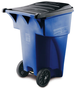 (Spec.ord) Roll Out Brute blue waste receptacle 94.75 gal with wheels