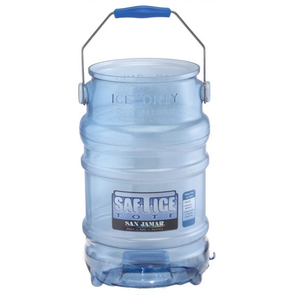 Safe-T-ice tote -ice carrier blue 6 gal