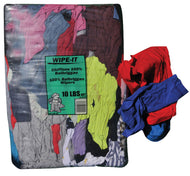 (135bp) Color t-shirt wipers 10 lbs