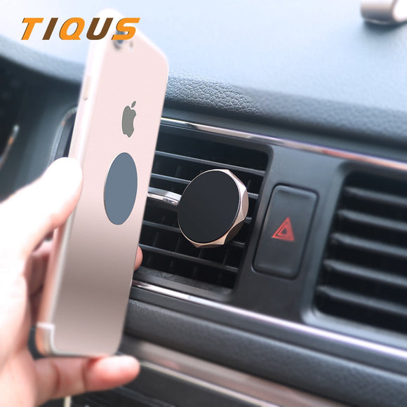 TIQUS Universal Car Phone Holder 360 Degree GPS Magnetic