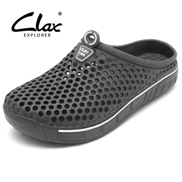Clax Garden Clog Shoes For Men Quick Drying Summer Beach Slipper Flat