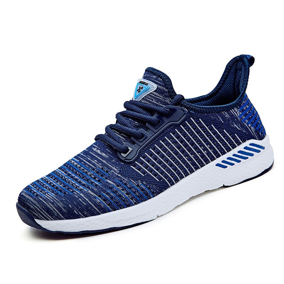 2017 New Air Mesh Running Shoes For Men Sneakers Outdoor Breathable Comfortable Athletic Flat Shoes Women Sports Shoes - NosNos