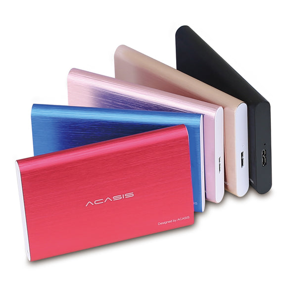 100% New External Hard Drive 160GB/320GB/500GB Hard Disk USB3.0 Storage Devices High Speed
