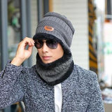 oZyc Balaclava Knitted hat scarf cap neck warmer Winter Hats