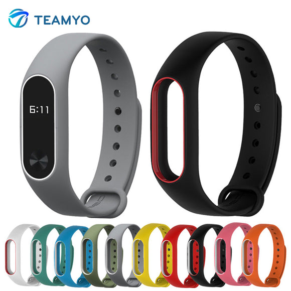 Xiaomi Mi Band 2 Strap For Mi Band 2 Silicone Strap Bracelet Replacement