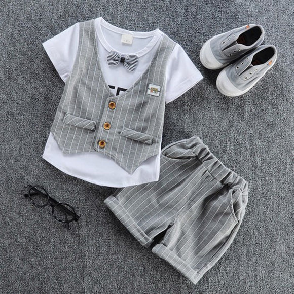 2018 children handsome clothing kids casual T-shirt