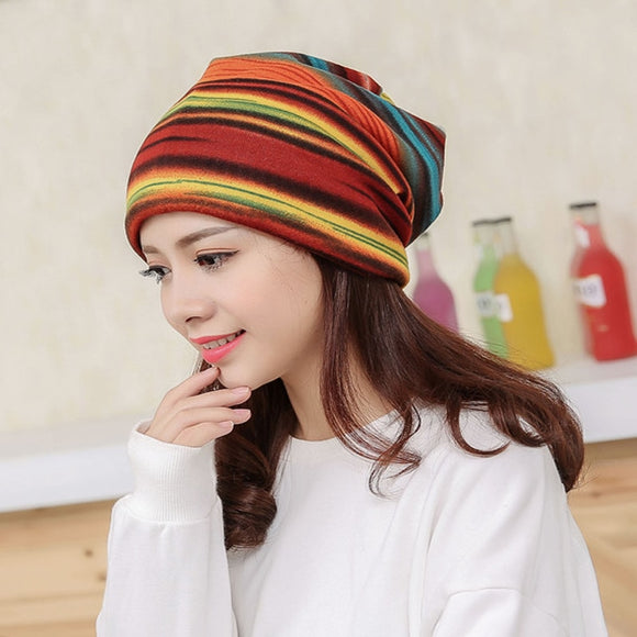 New Arrival Women's Fashion Turban Autumn Winter Warm Headdress Caps Hat