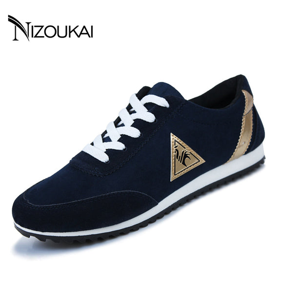 2017 mens Casual Shoes Hot Sale mens Trainers for men Lace-up Breathable fashion summer autumn Flats Male shoes adult Sneakers - NosNos
