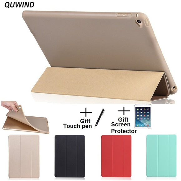 QUWIND Opaque Soft Material Sleep Wake Up Holder Protective Cover Case