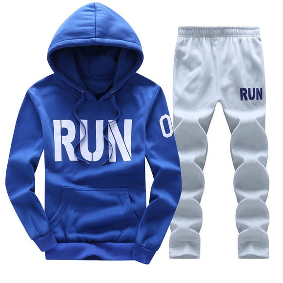 ASALI 2018 Men Tracksuits Outwear Hoodies Zipper Sportwear Sets