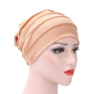 Mooistar #4022D Winter Women India Hat Muslim Ruffle