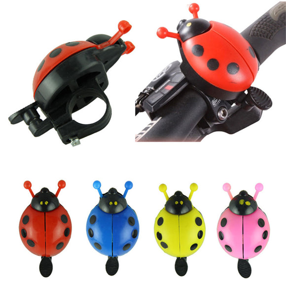 2017 Funny bicycle bell bike bell new ladybug cycling bell outdoor fun & sports bike ring camping Accessories - NosNos