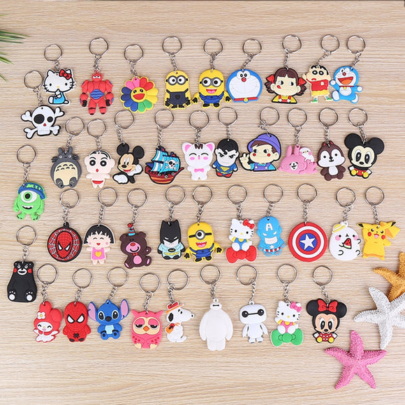SUTI Avengers Keychain Captain America Spider Man Batman Key Ring