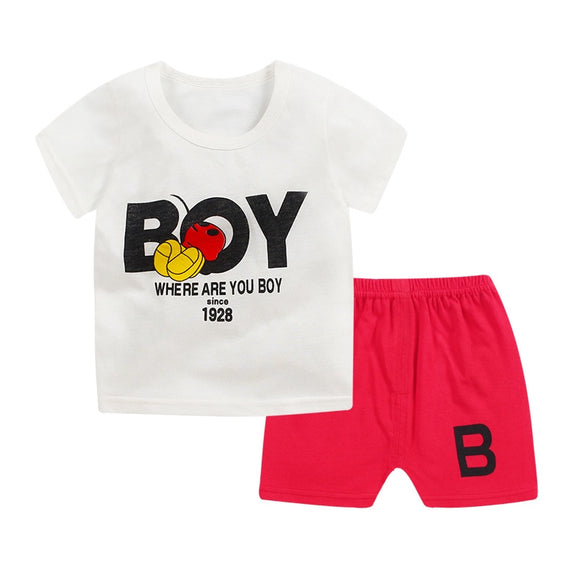 2018 new baby boy clothes quality cotton kids bodysuit