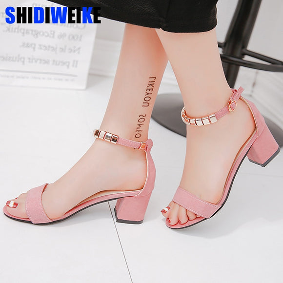 metal String Bead Summer Women Sandals Open Toe shoes Women's Sandles