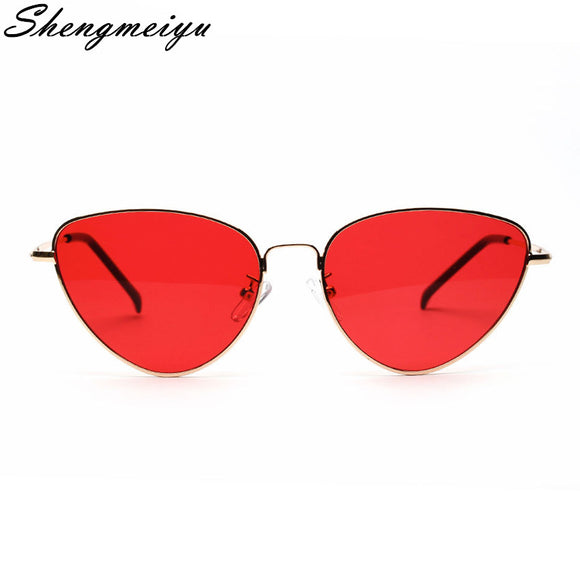 ellow Red Lens Sun glasses Fashion