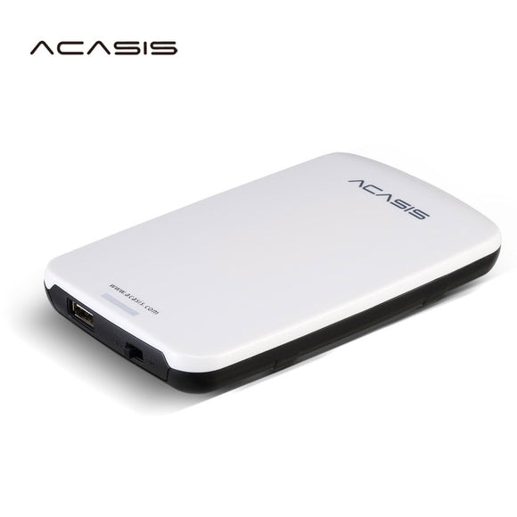 2.5''  ACASIS Original HDD External Hard Drive 160GB/250GB/320GB/500GB Portable Disk  Storage USB2.0