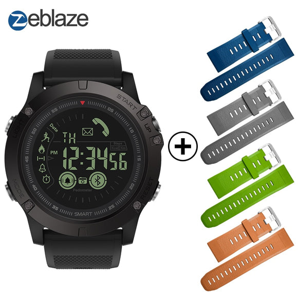 Hot Zeblaze VIBE 3 Flagship Rugged Smartwatch 33-month Standby Time