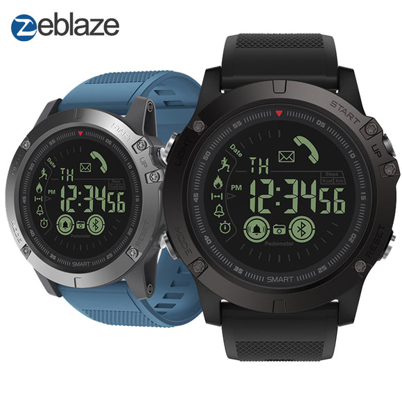 New Zeblaze VIBE 3 Flagship Rugged Smartwatch 33-month Standby Time