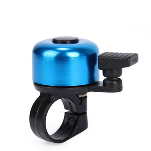 For Safety Cycling Bicycle Handlebar Metal Ring Black Bike Bell Horn Sound Alarm Bicycle Accessory Outdoor Protective Bell Rings