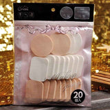 4 pcs Makeup Foundation Sponge Puff Cosmetic Puff Flawless Smooth Wet