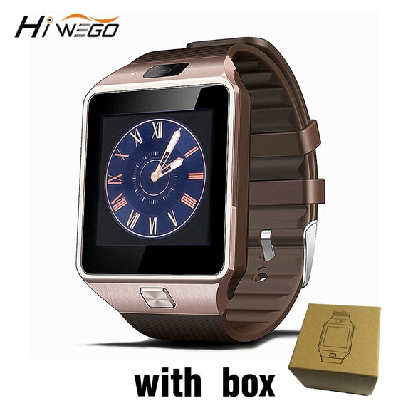 Smart Watch Clock With Sim Card Slot Push Message Bluetooth Connectivity