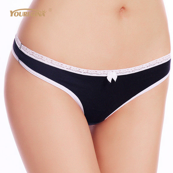 YOUREGINA Women G String Thongs Low Rise Tanga Briefs Sexy Panties