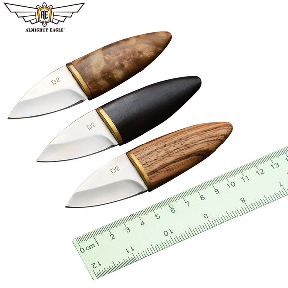 ALMIGHTY EAGLE Mini  Straight Blade Knife wood handle Knifes stainless steel EDC tools Survival Hunting Camping Outdoor tool