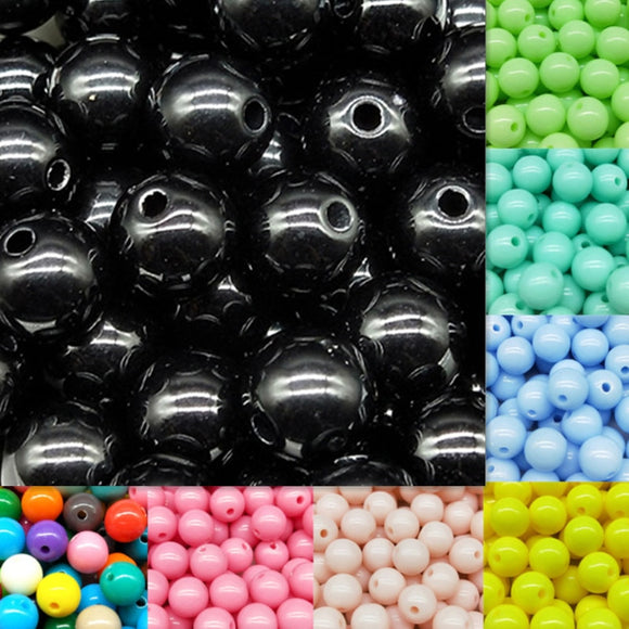 Cheap Hot Acrylic Beads Fits for Handmade DIY Necklace Bracelet