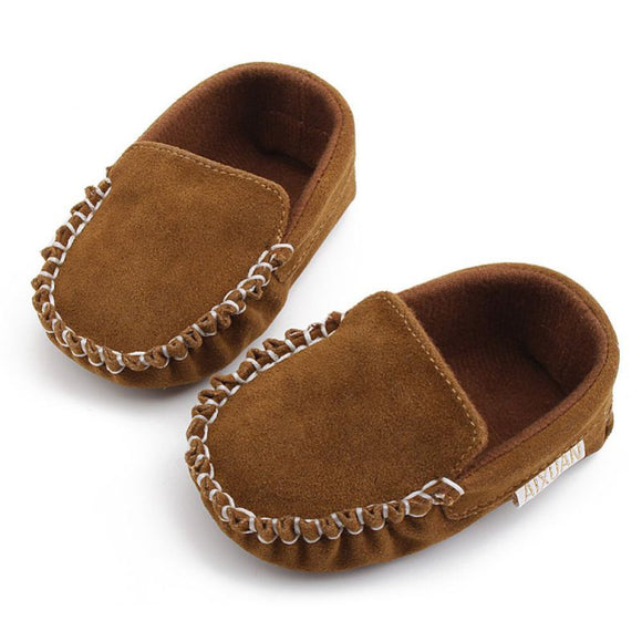 Newborn Baby Shoes Baby Moccasin PU Leather Baby Girls Shoes
