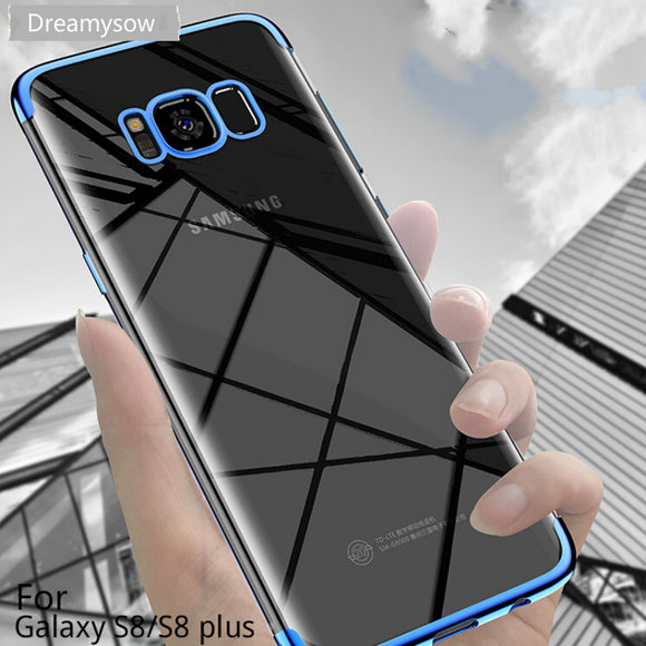 Plating Soft TPU Cases For Samsung Galaxy