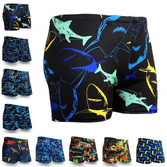 Multi Prints Men Swimming Trunks Swimwear Swim Sport Briefs Swimsuit Beach Boexer Shorts Wear Bathing Suit sunga maillot de bain