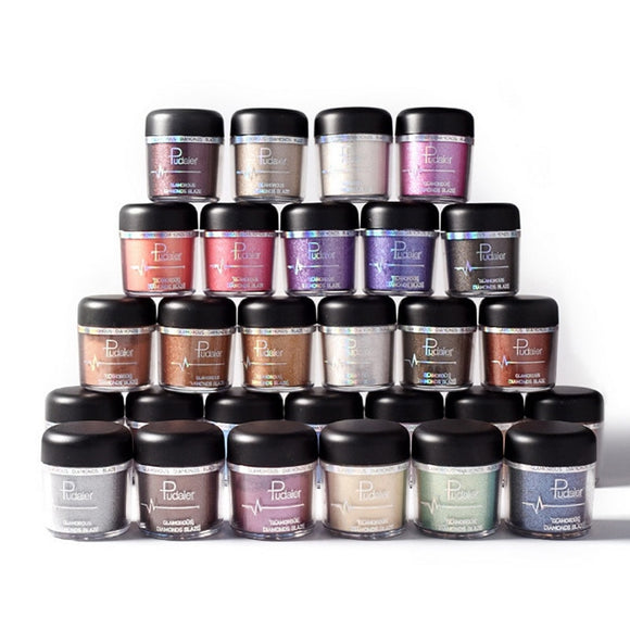 Pudaier Wholesale Glitter & Shimmer Makeup Eyeshadow Glamorous Diamonds Blaze