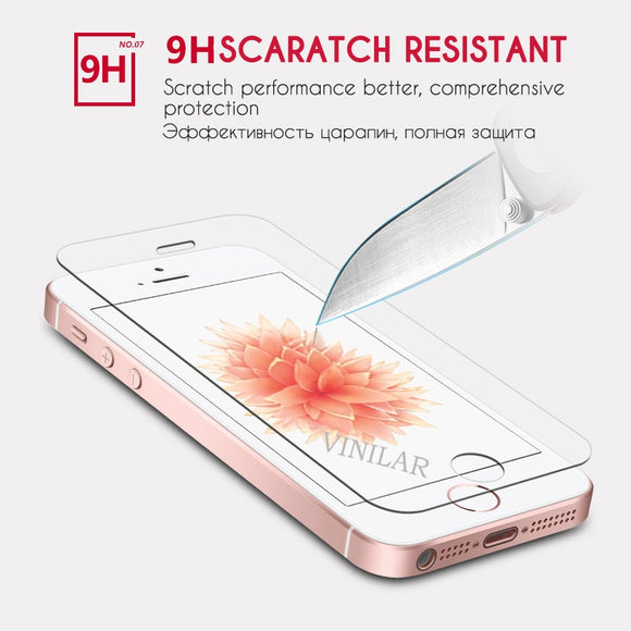 glass on for iphone 5s Tempered glass protective glass for iphone