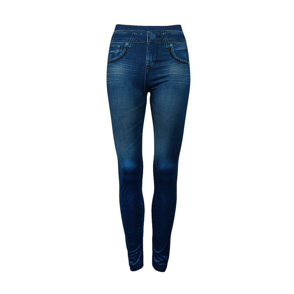 Lady Denim High Waist Jeans Seamless Sexy Women Jeans Skinny