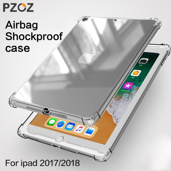 PZOZ Case For New iPad 2018 2017 9.7 inch Air 1 2 mini 1 2 3 4 Silicone Shockproof