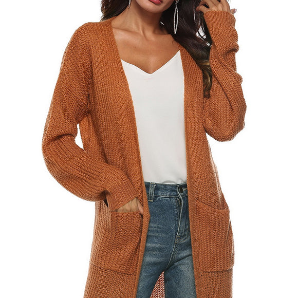 Open Stitch Poncho Knitting Sweater Long Sweater