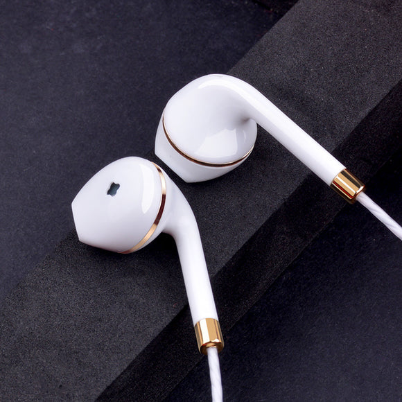 New in-ear earphone for iphone 5s 6s 5 xiaomi bass earbud headset Stereo Headphone