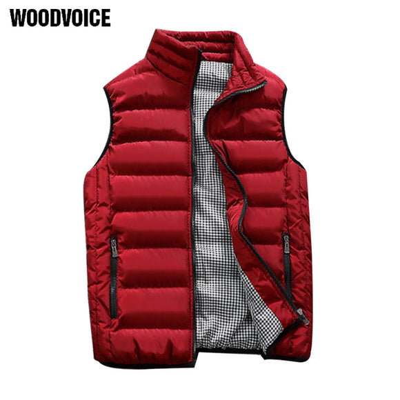 New Men Cotton Vest Autumn and Winter Couple Models Thickening Warm Cotton Vest