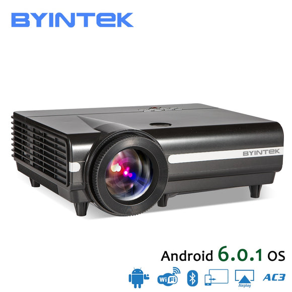BYINTEK MOON BT96Plus Android Wifi Smart Video LED Projector